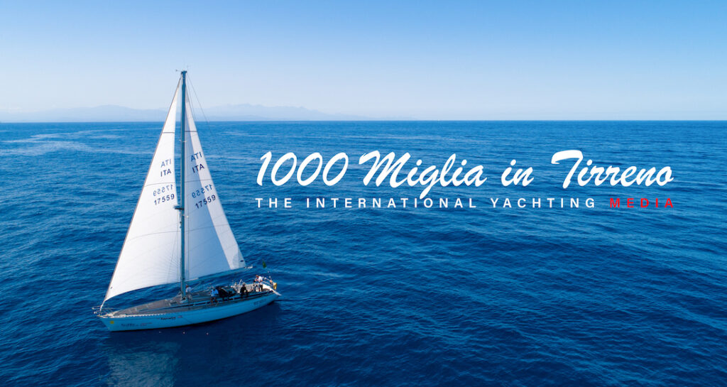 1,000 miles in the Tyrrhenian Sea