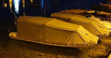boat camping tent