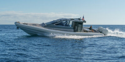 magazzù targa 45 sea trial