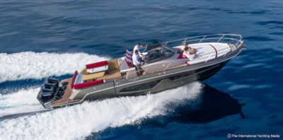 Sessa Key Largo 40 Sea trial