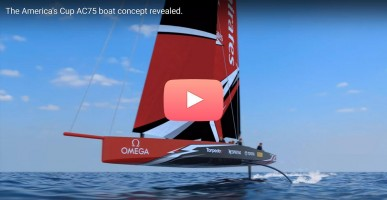 ac75 America's Cup concept