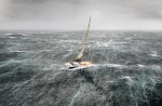 Heavy weather sailing. Lying a-hull: when things get so bad that sailing becomes a matter of survival