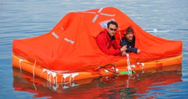 Arimar life raft test