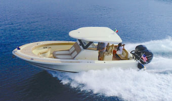 Chris Craft Catalina 30 sea trial