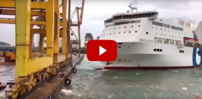 ferry accident in Barcelona