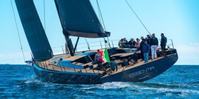 GS 80 Custom . The new Cantiere del Pardo maxi yacht sea trial